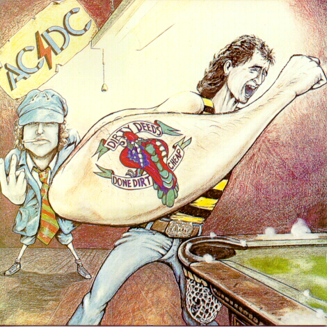 AC/DC: 1976 Dirty Deeds Done Dirt Cheap (Australia)